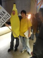 Youmacon 2011 - Stop Banana Violence by ImperialWarrior6490
