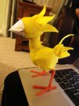 Chocobo in progress by Bwabbit