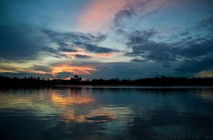 Sunset in Bucharest 4 by doruoprisan