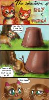 Two red cats - Strip 17 - Princess of the fort by FuriarossaAndMimma