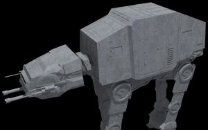 AT-AT by ExoticcTofu