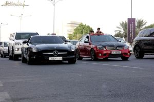 SLS and C63 by ramyk