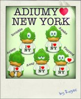 Adiumy Love New York by Regivic
