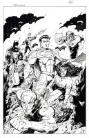 Justice League New 52 by KenHunt