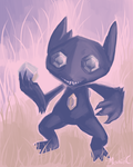 Sableye by StapledSlut