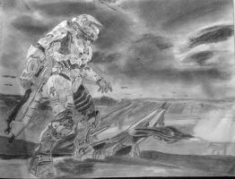 Halo3: MrChief and the Ark - 5 by MrScience