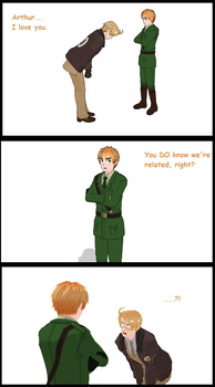 MMD Anti US X UK comic by connect9