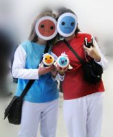 Don and Katsu cosplays by Siplick
