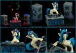 MLP : DJ Pon-3's Dance Party by emilySculpts