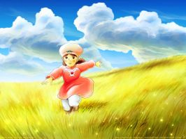 Through Golden Fields by MissNysha