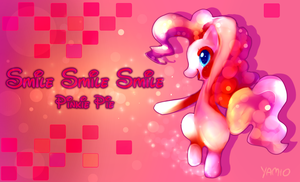 Pinkie Pie - Smile Smile Smile by Yamio