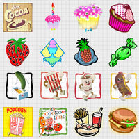 food 1.0 128x128 16icons by gr8koogly