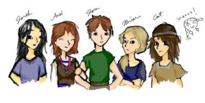 Tom, Briar, and the others by Lowland-Swagger