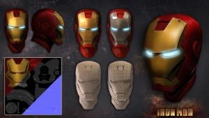 Ironman 3D model by Hercool