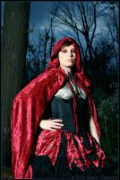 Little Red Riding Hood by fetishfaerie-photos