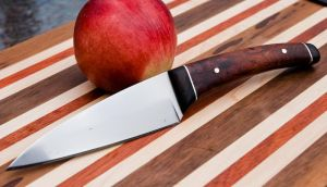 Finished Kitchen Knife by Dobson