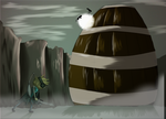 Shadow Of the Colossal Barrel by TurrKoise