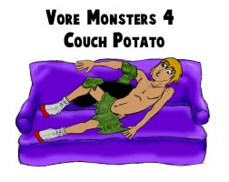 Vore Monsters 4 Couch Potato by DR4WNOUT
