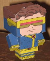 Cyclops Cubee by paperart