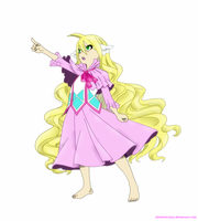 Fairy Tactician Mavis by hikeilover2022