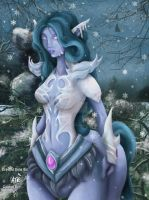 Frost Dryad: Colabration by TallmanCreations
