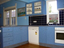 The kitchen in our Federation Semi-Detached hours by rbompro1