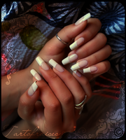 french manicure 2 by Tartofraises
