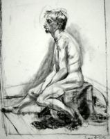 Life Drawing III by KerrithJohnson