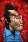 """Stephen King """"vintage"""" by AnthonyGeoffroy"""