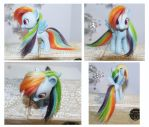 Rainbow Dash Toy by tertunni