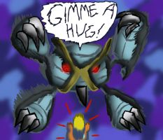 Mega-Hugs-Metagross by Dogtorwho