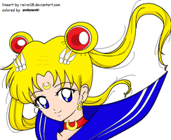 Sailor Moon by prettycure97
