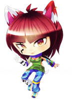 Commission: Chibi Tora by MayomiCCz