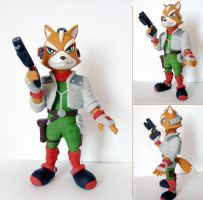 Fox McCloud Painted 2 by vrlovecats