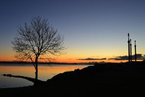 Sunset In Stavanger by Becwa