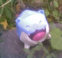 mini spheal papercraft by turtwigcuTey