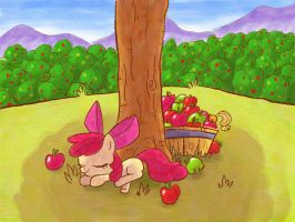 ATG II Day 5 - Apple Applebloom by Gachucho