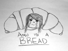 Amu is a Bread! by AmuKNyan