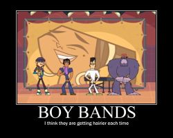 Total Drama Boy Band by AbominationOfTime