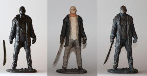 Jason Friday the 13th - 'garage KIT' by 123samo