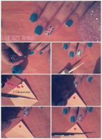 Nail ART Tutorial O5 by friabrisa