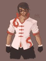lol Lee Sin lol by bluelightt
