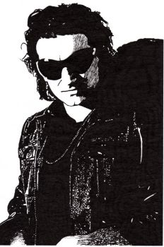 Bono as The Fly by rattle-and-hum88