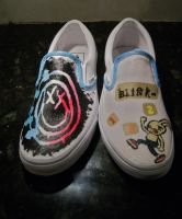 Blink-182-Vans by Arie-Vampiress
