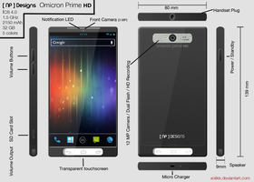 Omicron Prime HD Concept Phone by xNiikk