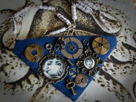 Cavalieri Collage Necklace by automatonaliza