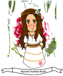 Commission: Mexico Chibi for Spirit-Okami by CicadaSing
