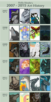 Art History 2007-2015 by CunningFox