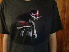 King Sombra T-shirt: Close up by The-S-H-A-D-O-W