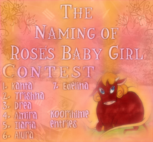 Naming of Rose's Baby by koorihimesama